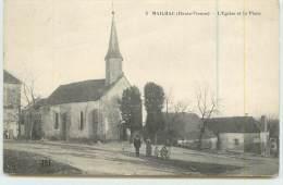 MAILHAC  - La Place Et L´Eglise - Zonder Classificatie