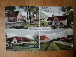 Ansichtskarte, Wanderup Bei Flensburg, 4 Ansichten, Gelaufen 1961 ! - Flensburg