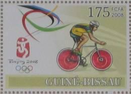 2008 GUINÉE-BISSAU Guinea-Bissau  ** MNH Vélo Cycliste Cyclisme Bicycle Cycling Fahrrad Radfahrer Bicicleta Cicli [AR23] - Cycling
