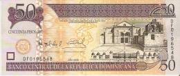 BILLETE DE LA REP. DOMINICANA DE 50 PESOS ORO DEL AÑO 2008 (BANKNOTE) SIN CIRCULAR-UNCIRCULATED - República Dominicana