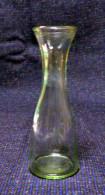 Vecchio Quartino Per Vino In Vetro - Vetro & Cristallo