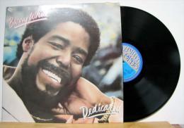 Barry White - LP 33tr : DEDICATED  (Pressage : Hol - 1983) - Soul - R&B