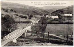 Sain Bel Les Mines - Pont Du Martinet Et Route De Chevinay - France