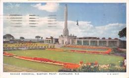 ¤¤   -  NOUVELLE-ZELANDE   -   AUKLAND   -  Savage Mémorial , Bastion Point   -  ¤¤ - Nuova Zelanda
