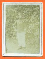 """Photo Sur Carton  """"  Militaire 3° Regiment  """"  A Identifier N°2 - War, Military"""