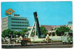 I1015 Karachi - Typical Scene Un Suburb / Viaggiata 1965 - Pakistan