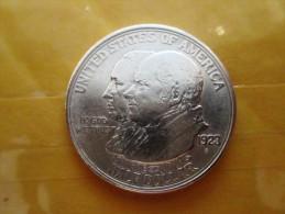 USA 1/2 Dollar, 1923 James Monroe And John Quincy - Émissions Fédérales