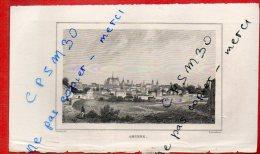 Eaux Fortes - AMIENS (vue Générale) - 80 Somme - Duthoit Del / Schroeder Sc. - Drawings