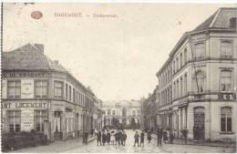 THOUROUT Statiestraat Animee Circulee 15.4.1916 Grande Guerre Feldpost Feldlazarett Nr. 77 Tres Bon Etat - Torhout