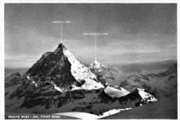 Monte Rosa. Dal Piano Rosa. Cervino E Dent Blanche - Mountaineering, Alpinism