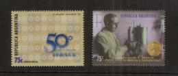 Argentinien 2393 ** Nobelpreis Medizin + 2428 ** 50 Jahre Israel (1998) - Argentinien