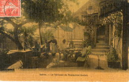 SAONE (25) Terrasse Du Restaurant Gomot Belle Animation - France