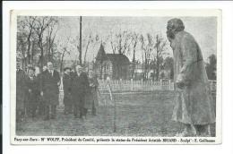 Pacy Sur Eure, Mr Wolff Président Du Comité, Présente La Statue Du Président Aristide Briand, Sculpt E.Guillaume. - Pacy-sur-Eure