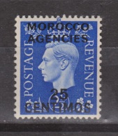 Marocco Agencies 25 Centimos MLH - 1902-1951 (Reyes)
