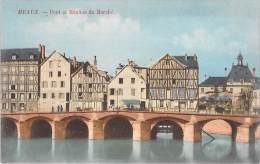 MEAUX. Pont Et Moulins Du Marché. - Meaux