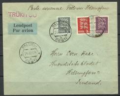 ESTLAND ESTONIA ESTONIE Air Mail Flugpost Cover To Finland Helsinki 26.03.1929 - Estland
