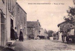 Beaulieu-sous-Parthenay..animée..le Bureau De Tabac..attelage - Sonstige Gemeinden