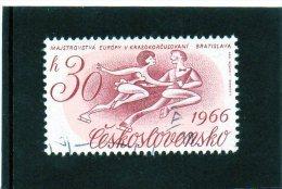 1966 Cecoslovacchia - Campionati Europei Di Pattinaggio Su Ghiaccio - Pattinaggio Artistico