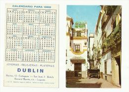 - CALENDARIO  PARA  1969--DUBLIN - Calendriers