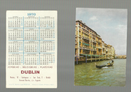 - CALENDARIO  PARA  1970--DUBLIN - Petit Format : 1961-70