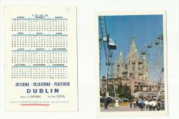 - CALENDARIO  --DUBLIN -CARTAGENA  1968 - Petit Format : 1961-70