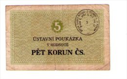 Czechoslovakia Prision Vouchers PRAHA - Tchécoslovaquie