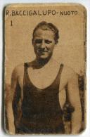 FIGURINA R. BACCIGALUPO NUOTO SPORT CIOCCOLATO FRANCOIS MEUNIER - Nuoto
