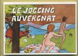 Le Jogging Auvergnat ( Nus, Taureau, Champignons ) - Humour