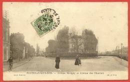 FONTENAY Sous BOIS Rare Avenues Marigny Et Des Charmes (Oury) Val De Marne (94) - Fontenay Sous Bois