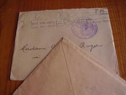 Hopital Complémentaire Pasteur Cachet Nice 1940 . Alpes Maritimes . En FM - Documents