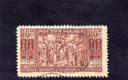 POLOGNE 1933 O - 1919-1939 Republic