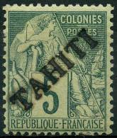 Tahiti (1893) N 10 * (charniere)