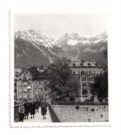 Original-Foto INNSBRUCK - Brücke, Blick Auf Hotel Kaiserhof Und Gasthof Innbrücke - 1930er Jahre - Plaatsen