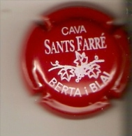 PLACA DE CAVA SANTS FARRE (CAPSULE)  BERTA I BLAI - Placas De Cava