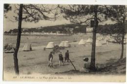 LE BUREAU. - La Plage Prise Des Dunes - France