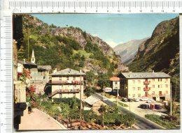 RUNAZ  M. 805 -  Vista Monte Bianco  -  Hôtel Restaurant Pierre Taillée - Aosta