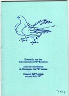 HC-L36 - SUISSE Livret De 2 Séries D´hommes Célèbres 1972 Et 1979  Dessins De Hans Erni - Carnets