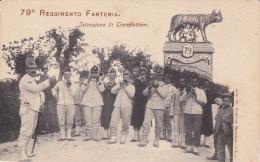 UDINE , Italy , 1890s ; 79o Reggimento Fanteria. Istruzione Di Trombettieri - Udine