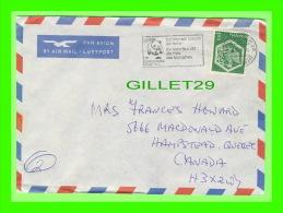 ZURICK, SUISSE- ENTIERS POSTAUX - ENVELOPPE, HOTEL ZURICH, 1983 - BY AIR MAIL - AÉROGRAMME - - Stamped Stationery
