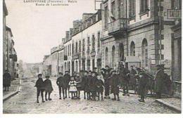CPA29*LANDIVISIAU * Mairie Route De Landerneau - Landivisiau