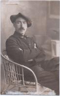 Militaire D´Hyères Prisonier De Guerre 1914-1918 Camp Schneidemuhl Posen  Carte Photo 2scans - Chasseur Alpins N°67 - Weltkrieg 1914-18