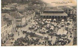CPA29* LANDIVISIAU * Halle Et Marché Tous Les Mercredi - Landivisiau