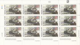 Marshall Islands MNH Scott #330 Minisheet Of 12 29c Liberation Of Kharkov - World War II - Marshall