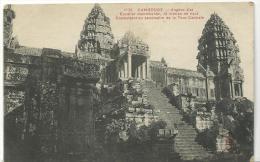 Cambodge  ,  Angkor - Vat - Kambodscha