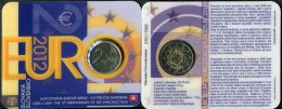 503-SLOVAKIA Slowakei Coincard 2 Euro BU 10th Anniversary -eurocash- 2012 - Eslovaquia