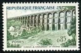 France N° 1240 ** Le Viaduc De Chaumont - Pont - France