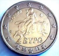 2 EURO GRECE  2002  FDC / NEUF / UNC Avec Lettre *S* - Grèce