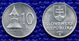 SLOVAQUIE 10 Halierov 2002. # 2338. - Slowakije