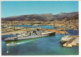 83 - TOULON - Vue Générale Du Port - Le JEAN BART - Editions YPA N° 83-74 - 1971 - Bateau De Guerre Cuirassé - Toulon