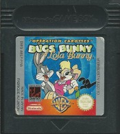 - JEU GAME BOY COLOR BUGS BUNNY & LOLA OPERATION CAROTTES (GAME BOY COLOR, GBA) - Nintendo Game Boy